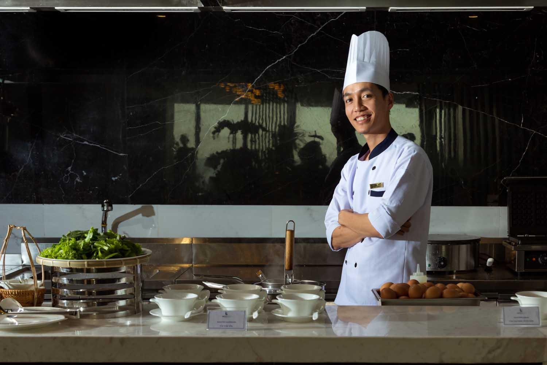 Chef Portrait Royal Boton Blue Hotel & Spa - Photos by Halo Digital media - Hotel & Resort Photography - Vietnam - Nha Trang