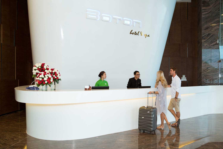 check in lobby Royal Boton Blue Hotel & Spa - Photos by Halo Digital media - Hotel & Resort Photography - Vietnam - Nha Trang