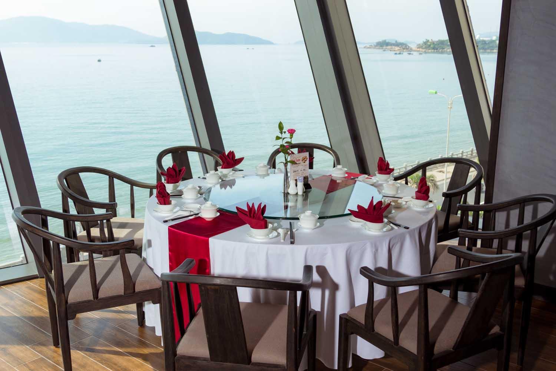 Seaview from restaurant Royal Boton Blue Hotel & Spa - Photos by Halo Digital media - Hotel & Resort Photography - Vietnam - Nha Trang