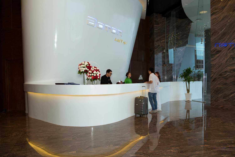 check in lobby 1 Royal Boton Blue Hotel & Spa - Photos by Halo Digital media - Hotel & Resort Photography - Vietnam - Nha Trang