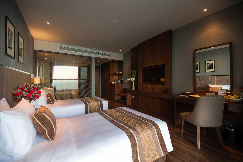 twin room Royal Boton Blue Hotel & Spa - Photos by Halo Digital media - Hotel & Resort Photography - Vietnam - Nha Trang