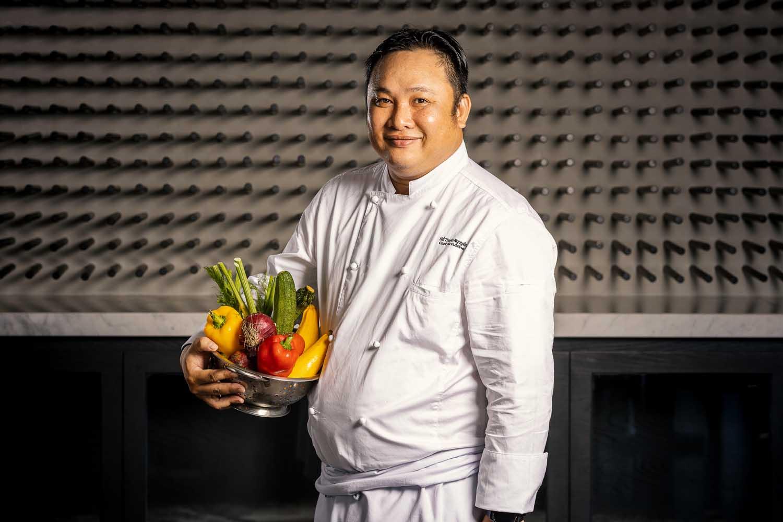 Alma Garden Head Chef Pizza Alma resort Cam Ranh - Photos by Halo Digital Media - Food & Hotel Photography- Vietnam