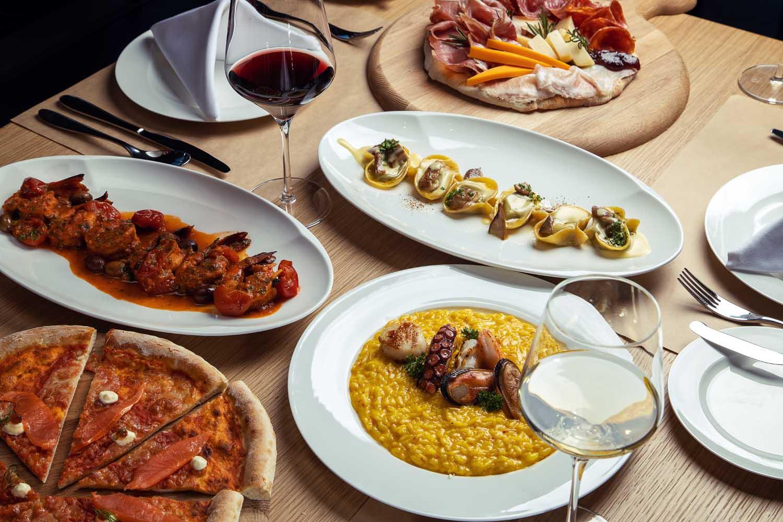 Italian Cuisine at Pizza Alma resort Cam Ranh - Photos by Halo Digital Media - Food & Hotel Photography- Vietnam