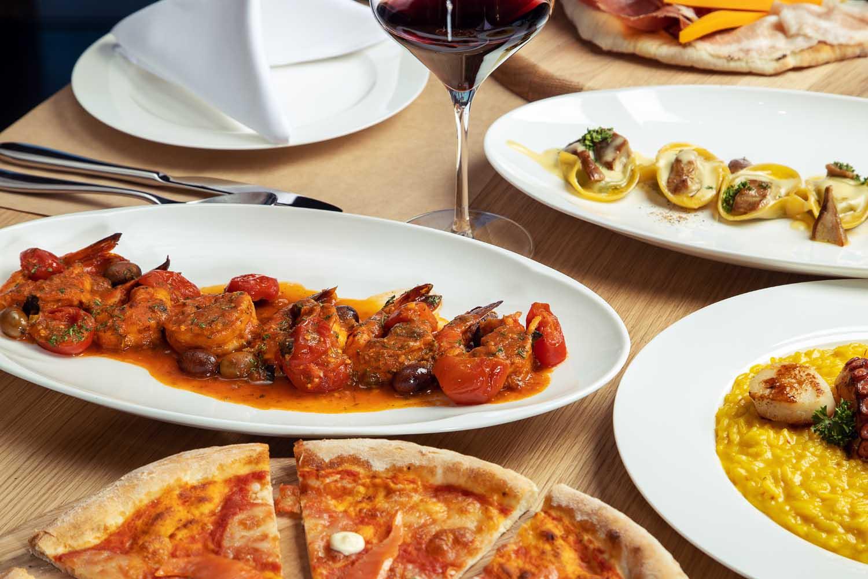 Italian restaurant la casa Pizza Alma resort Cam Ranh - Photos by Halo Digital Media - Food & Hotel Photography- Vietnam