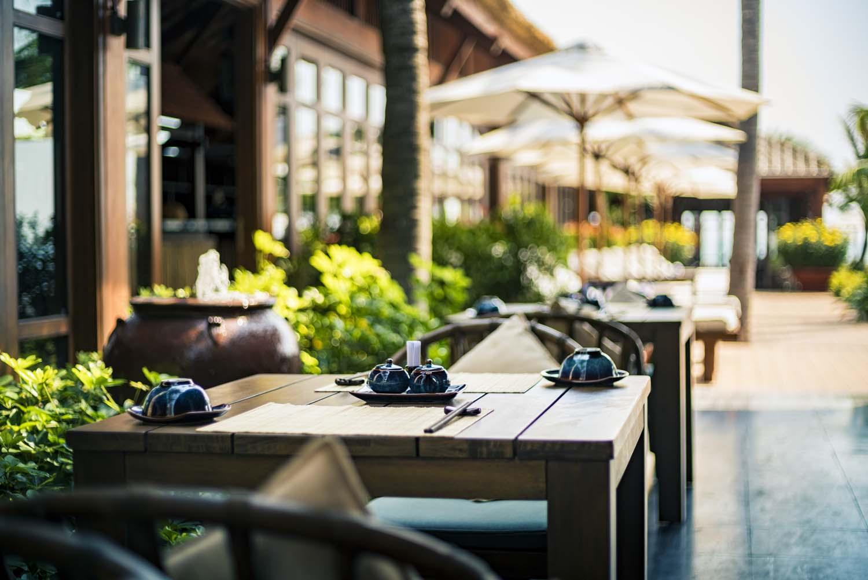 The Anam Resort Restaurants - photo by Halo digital media  hotel and resort photography Vietnam