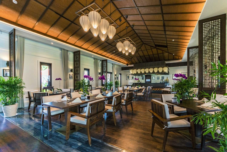 The Anam Resort Restaurants - photo by Halo digital media  hotel and resort photographers Vietnam
