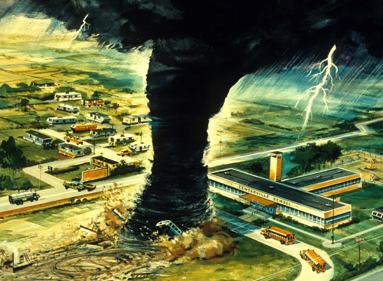 Une tornade destructrice : vous n'arriverez pas à y échapper. Vous ne l'avez pas vu venir.