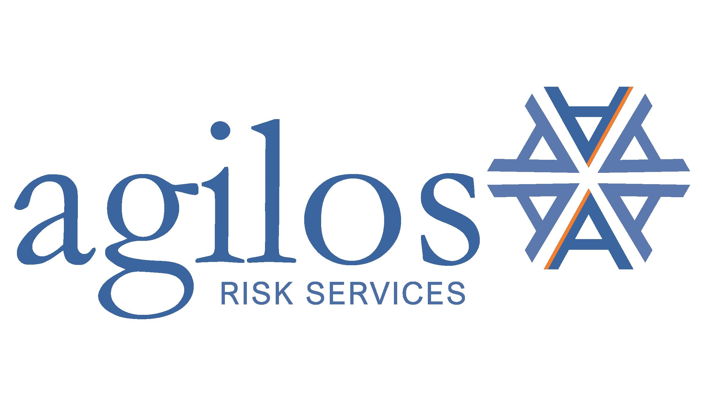 Logo of company agilos