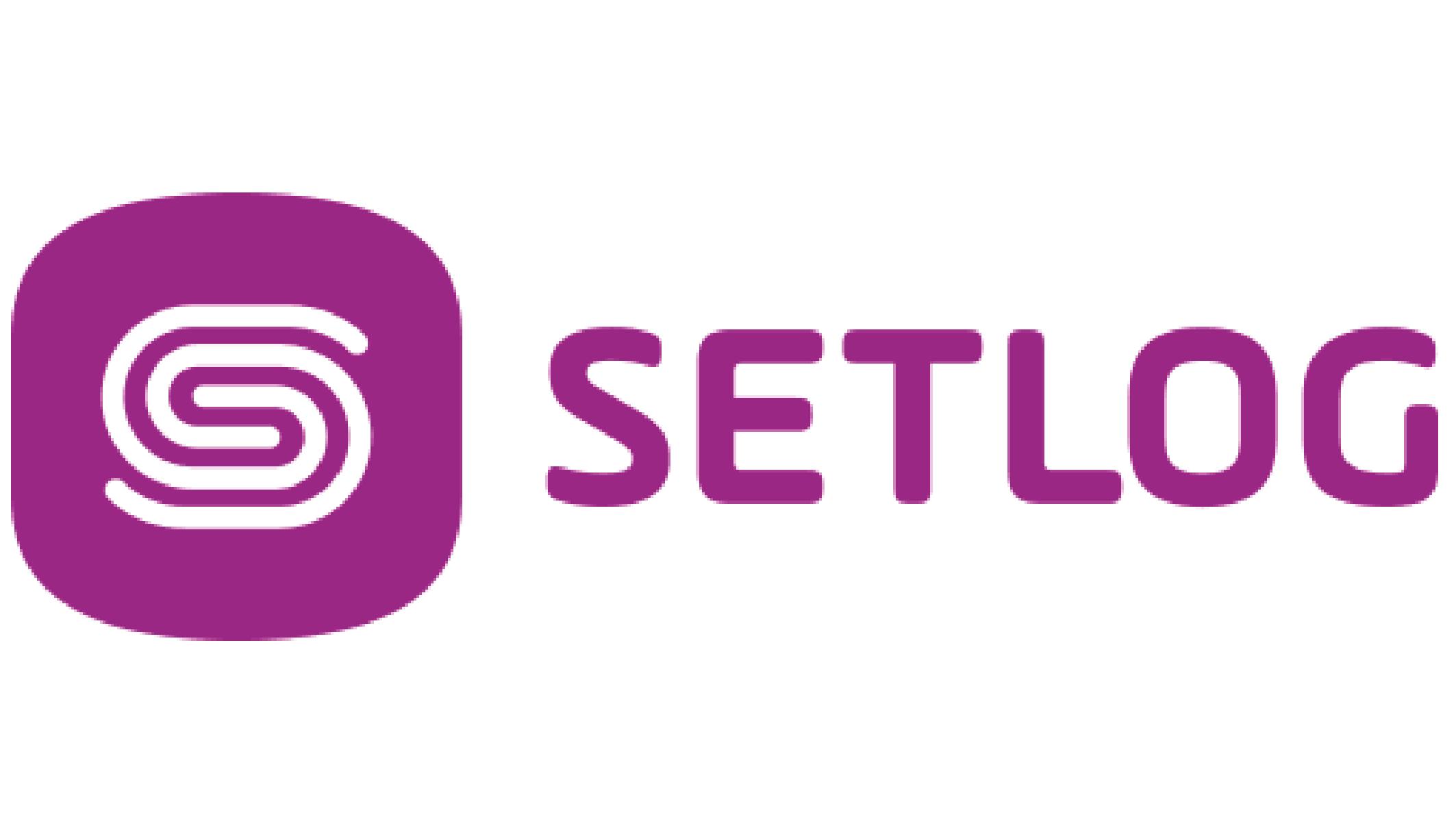 Logo of company setlog