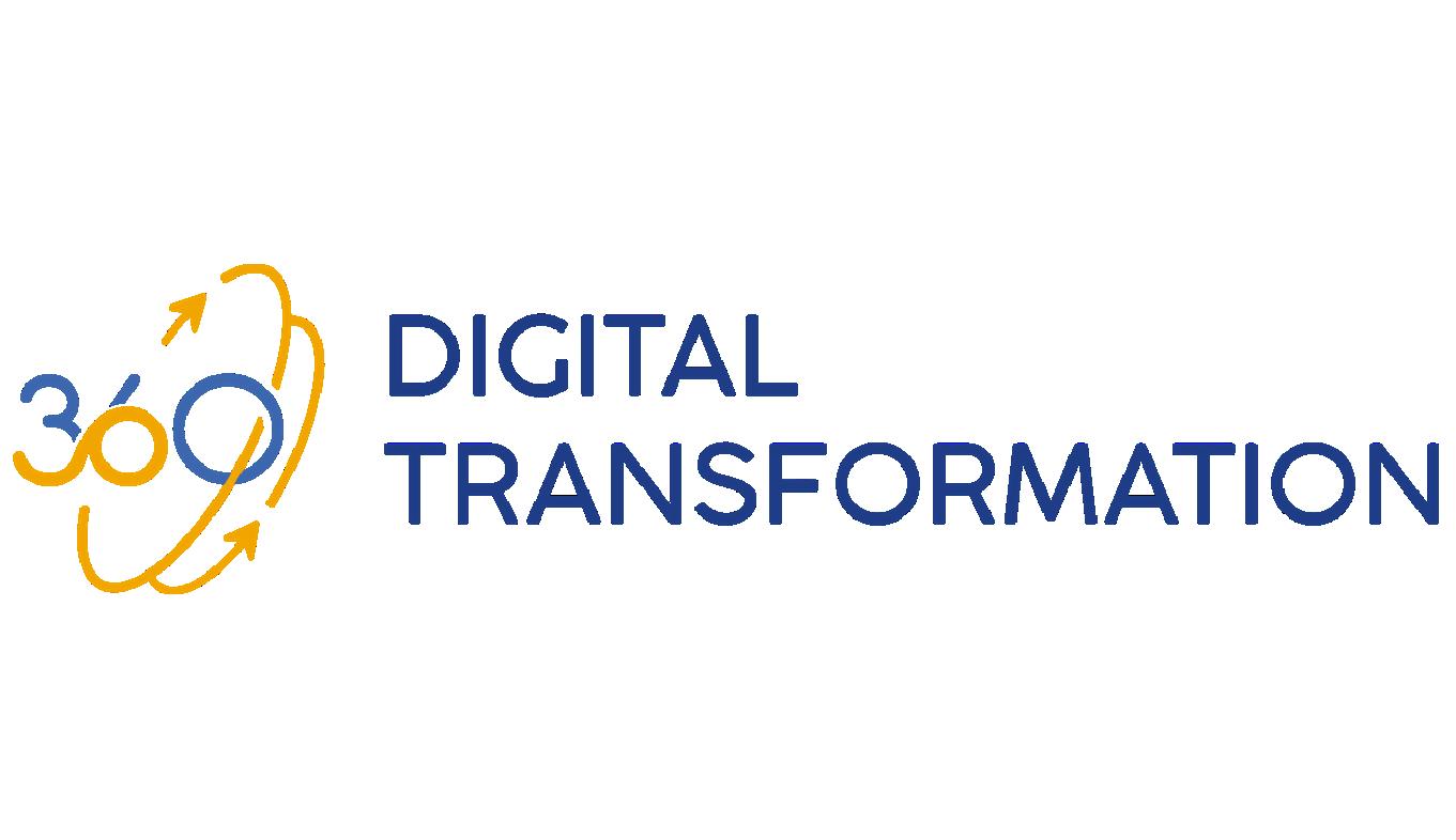 Logo of 360 Digital Transformation.