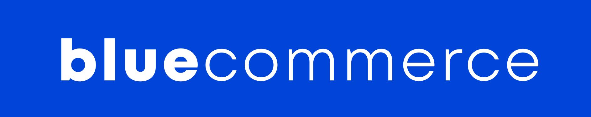 Logo Blue Commerce azul