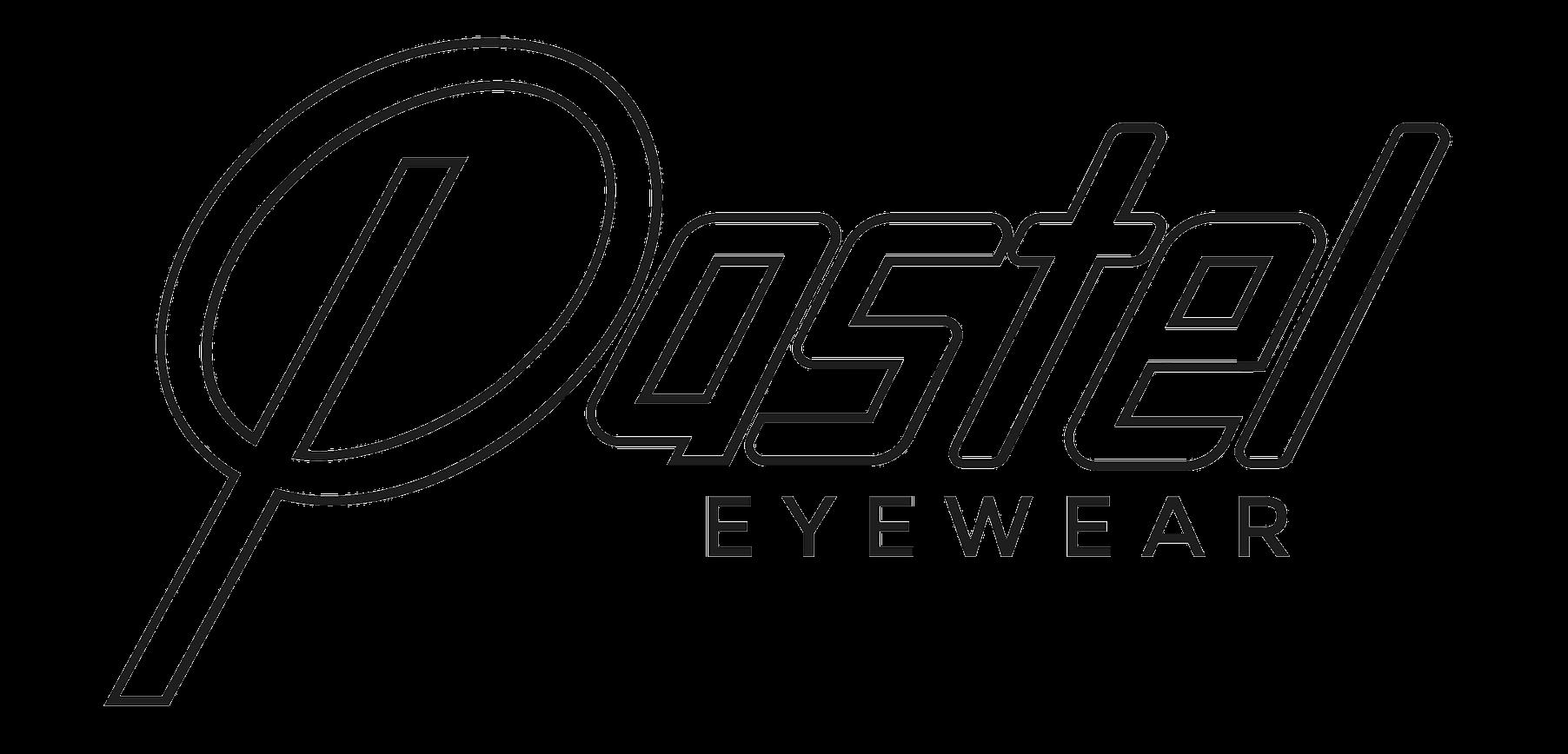 Pastel eyewear logo