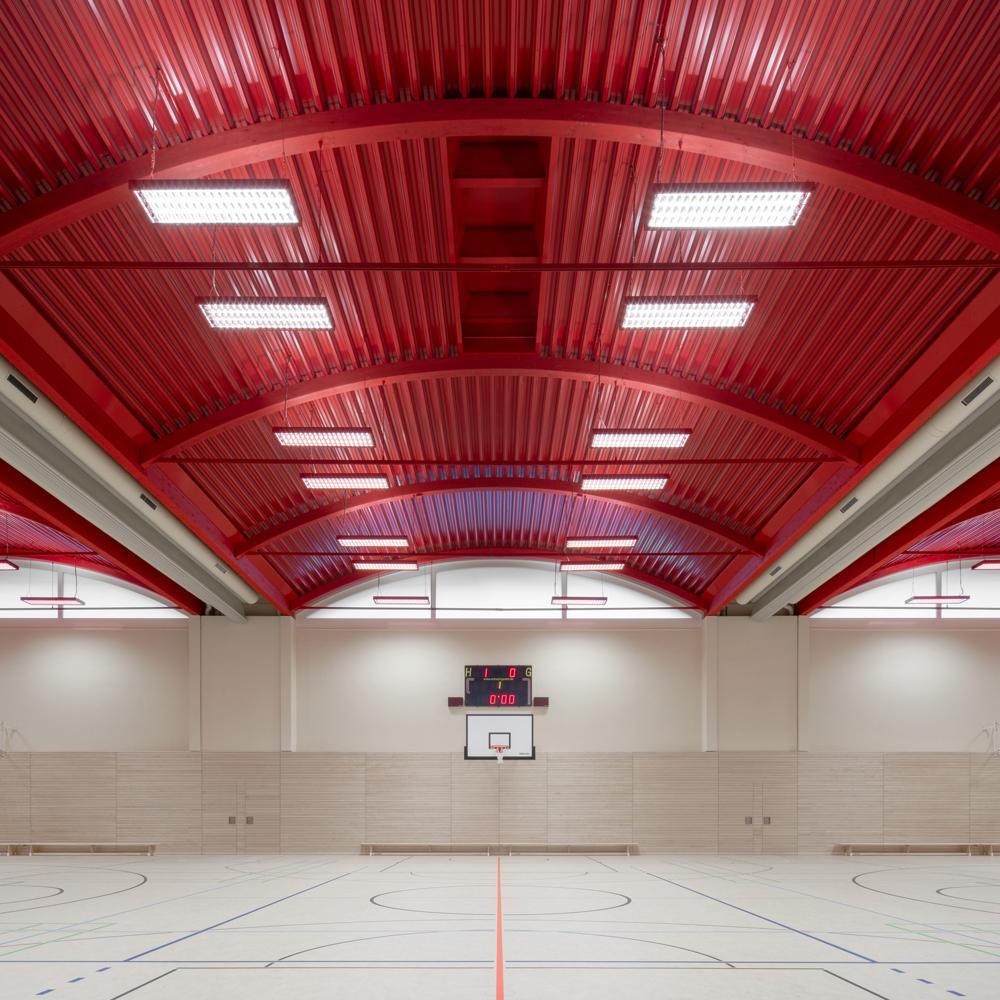 Sporthalle Hans-und-Hilde-Coppi-Gymnasium, Berlin | Schulz und Schulz, Leipzig