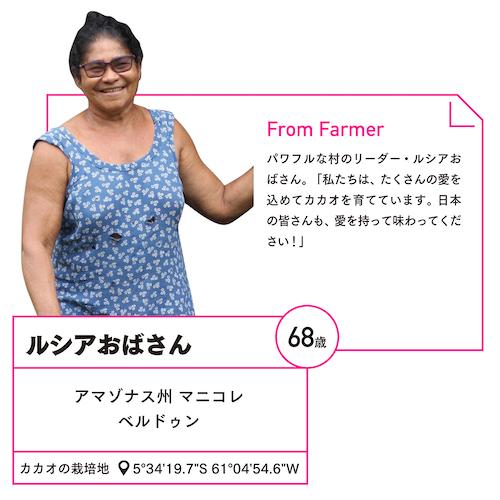 アマゾンの農家ルシアの写真