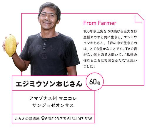 アマゾンの農家エジミウソンの写真