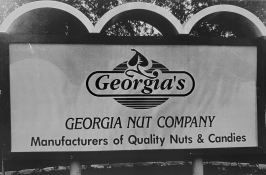 Georgia Nut Company historical logo.