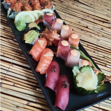 Eine kleine Sushi-Auswahl