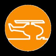 Streusalz Alternative auf Heliport und Helipad