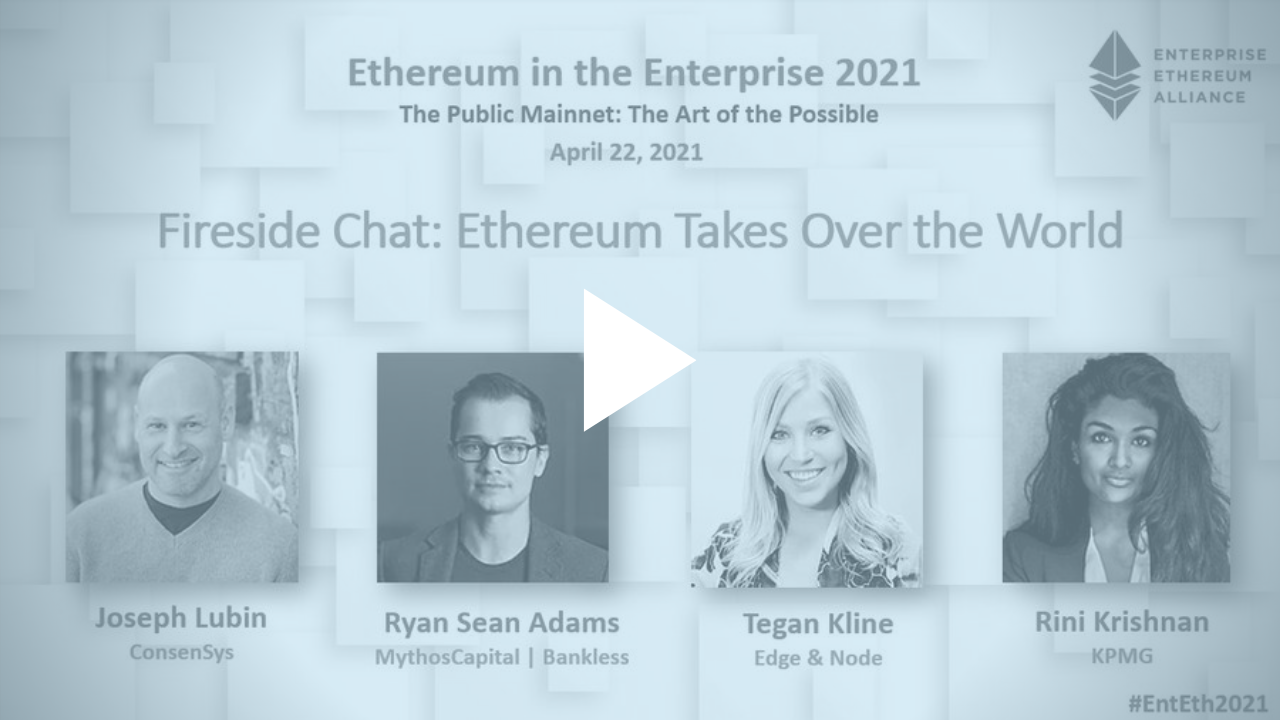 Ethereum Takes Over The World