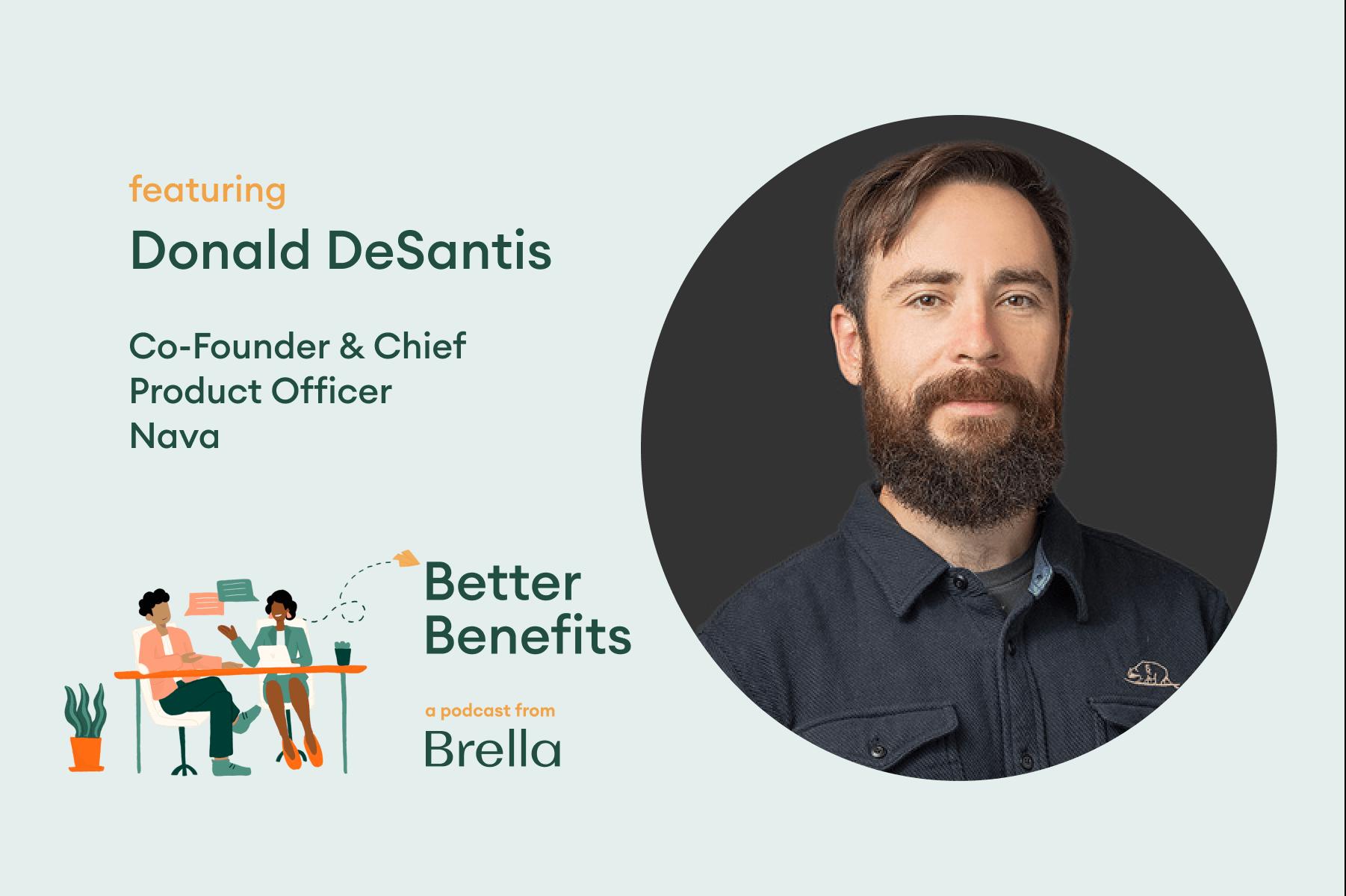 Donald DeSantis on Better Benefits | Brella