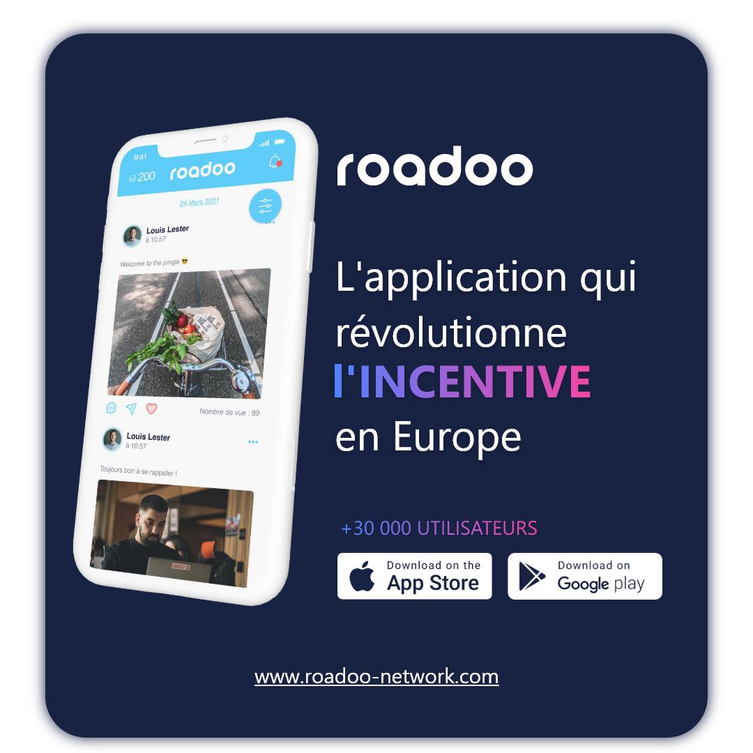 Roadoo Application d'incentive Gratuite