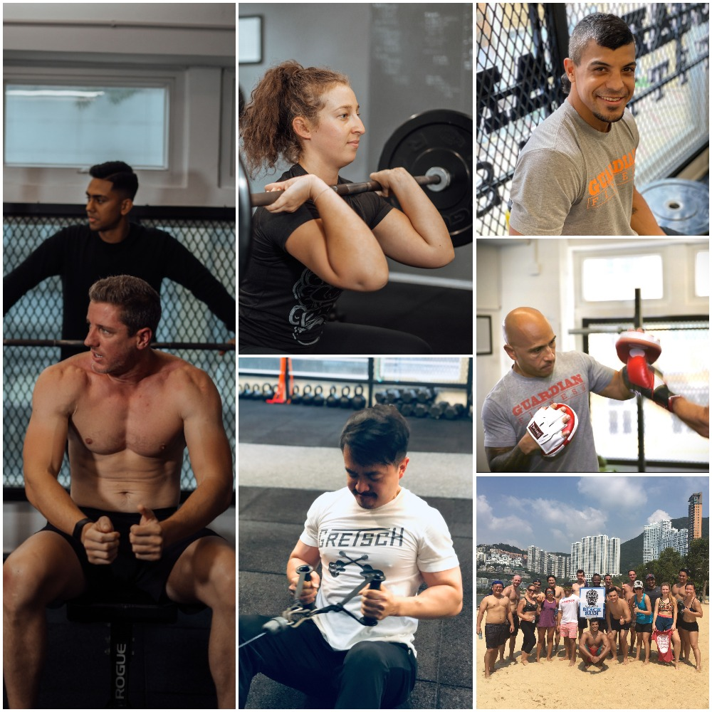 Guardian Fitness Team Collage