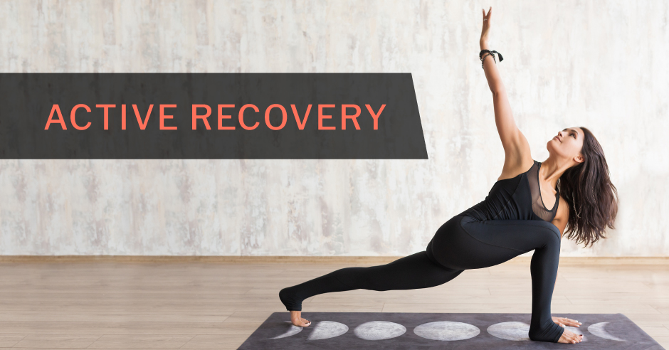 An active recovery workout involves performing low-intensity exercise following a strenuous workout. Examples include walking, yoga, and swimming.