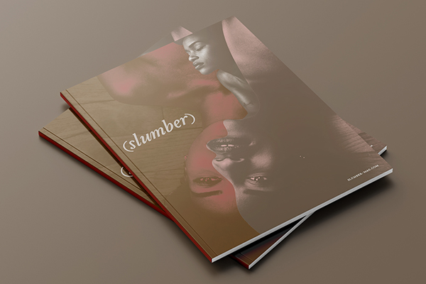 """Starting off as a section in our UMBER graphic journals, Slumber is now its own uninhibited print publication. Slumber is all about exploring the human body, sensuality, desire as well as the vulnerability inherent in the sexual expression of Black and Brown bodies. This book-styled luxury magazine will contain """"nudity and adult content"""" and is suggested only for readers 18 and over. Preorder you copy, ships in December."""