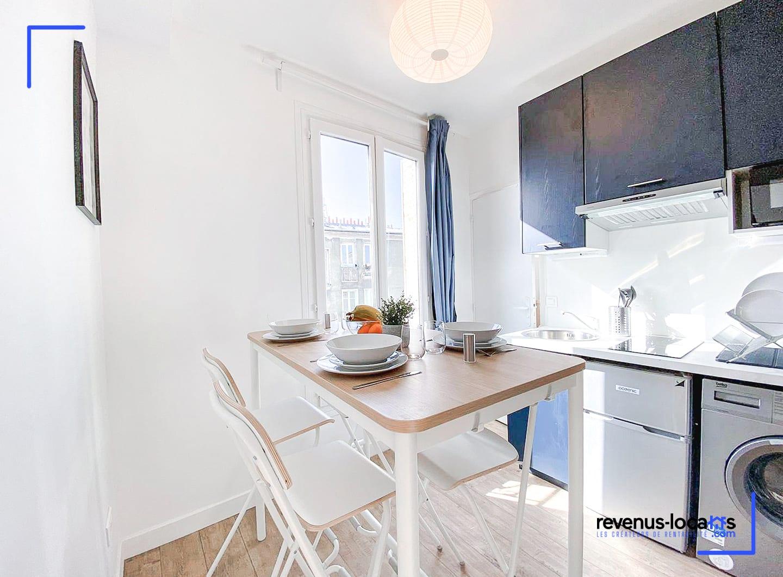 Appartement à Pantin rénové par Revenus-Locatifs.com