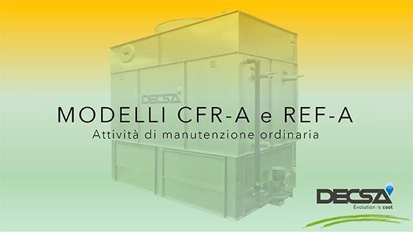 Manutenzione ordinaria per raffreddatori evaporativi REF‑A e condensatori evaporativi CFR‑A
