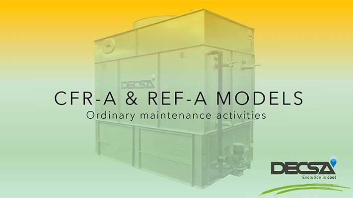 Cooling tower maintenance: REF-A and CFR-A series [webinar]