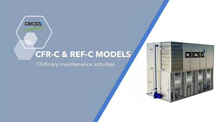 Cooling tower maintenance: REF-C and CFR-C series [webinar]