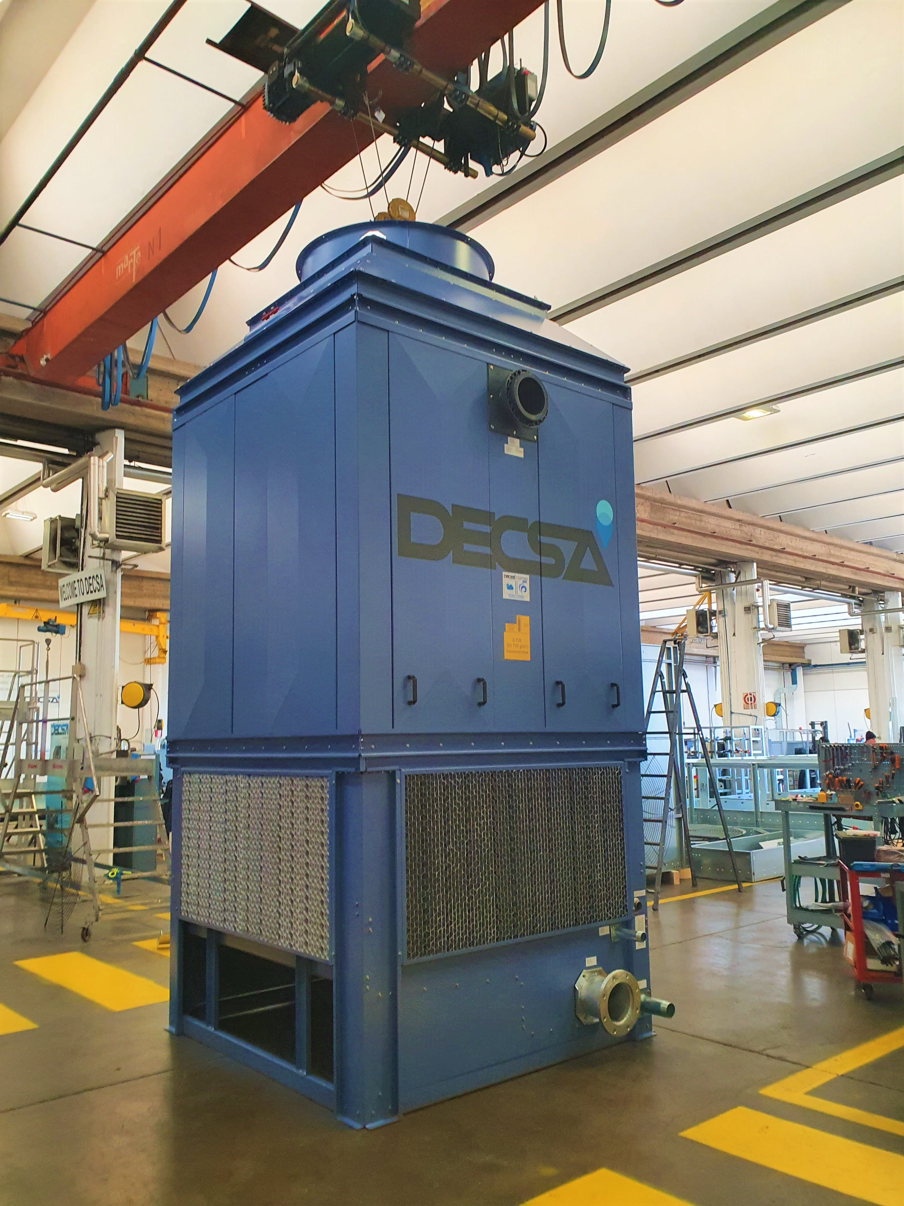 Torri di raffreddamento industriali: la serie SQA