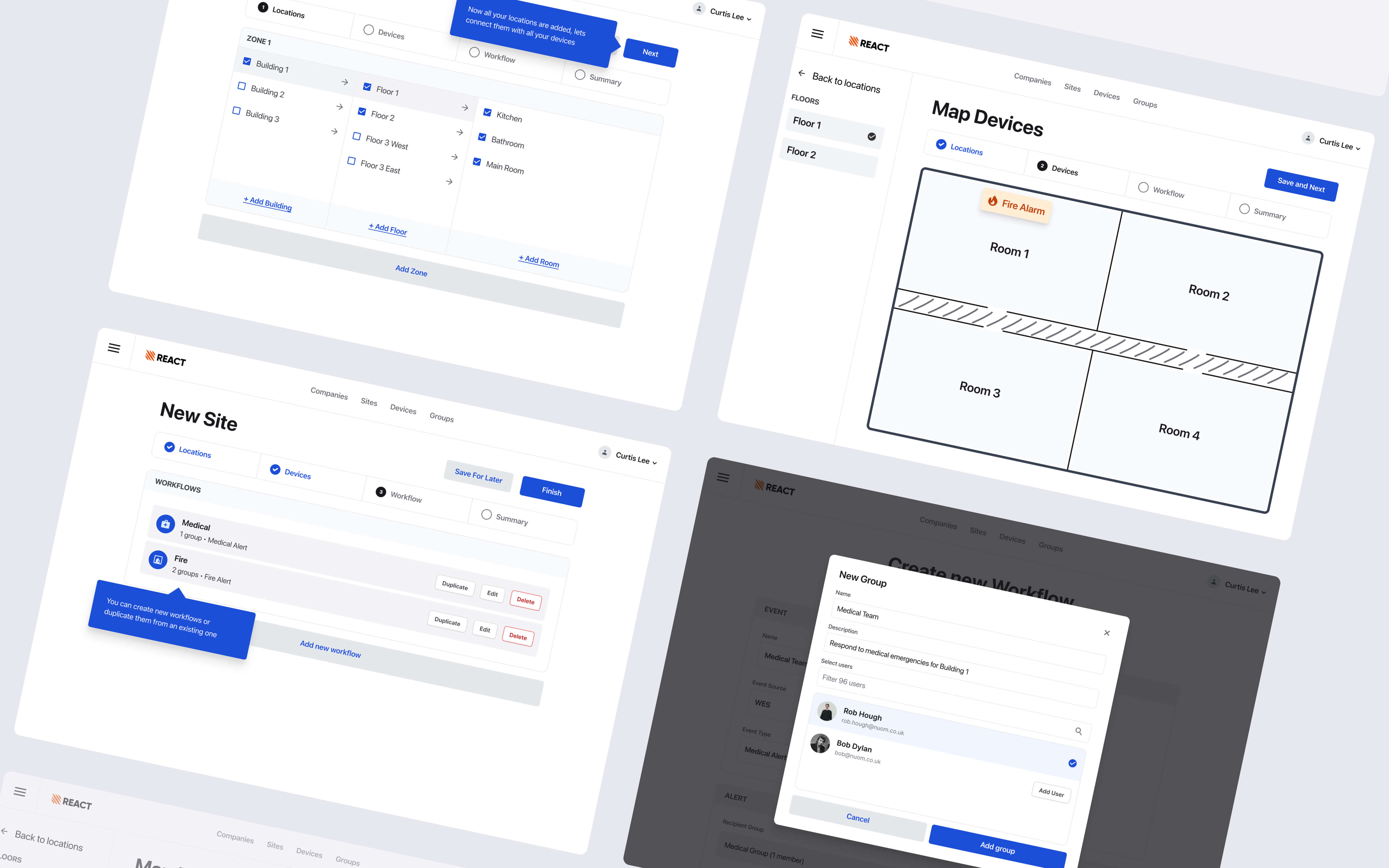 We ran a five day Design Sprint to help Ramtech improve their existing REACT Portal. With customers complaining of a complicated setup process and a cluttered, unorganised flow, we got to work to uncover why these issues were occurring.