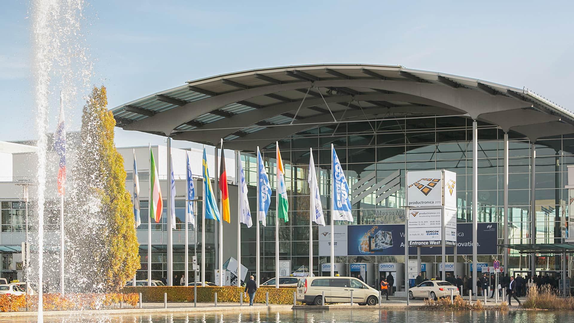 Productronica Fair in Munich