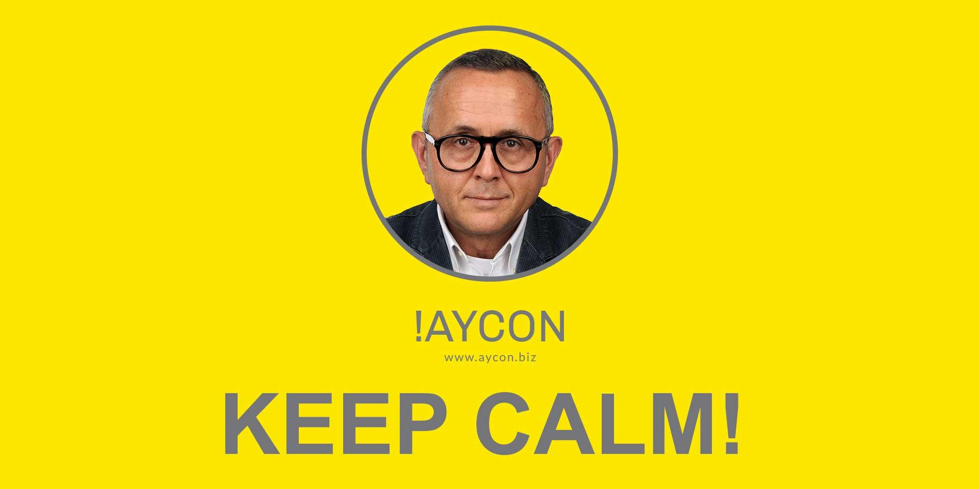 Ulvi says: Keep Calm!