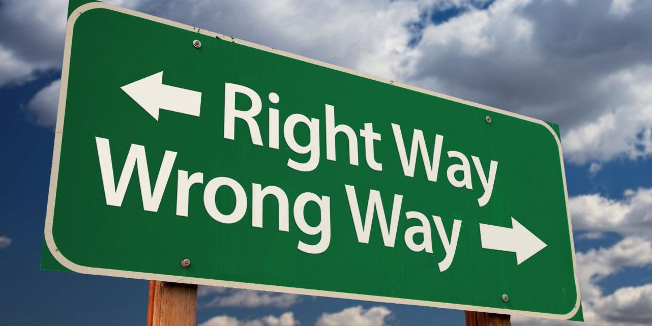 Wenn es sich falsch anfühlt, ist es falsch! - If it feels wrong, it is wrong!