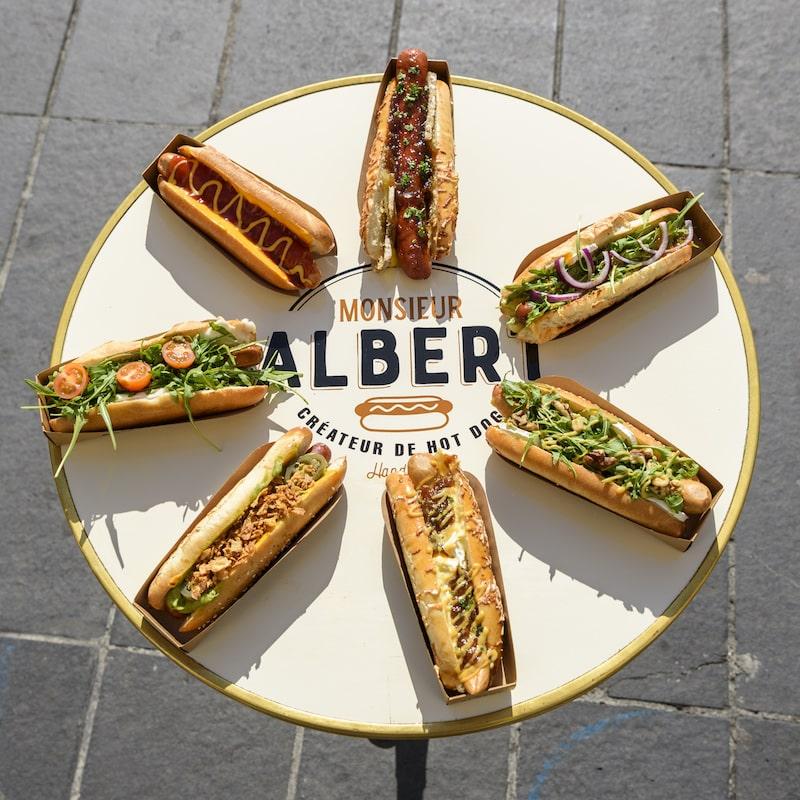 Monsieur Albert Sandwich