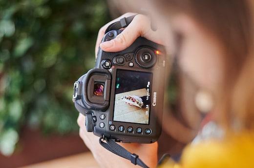 Photo d'un shooting photo