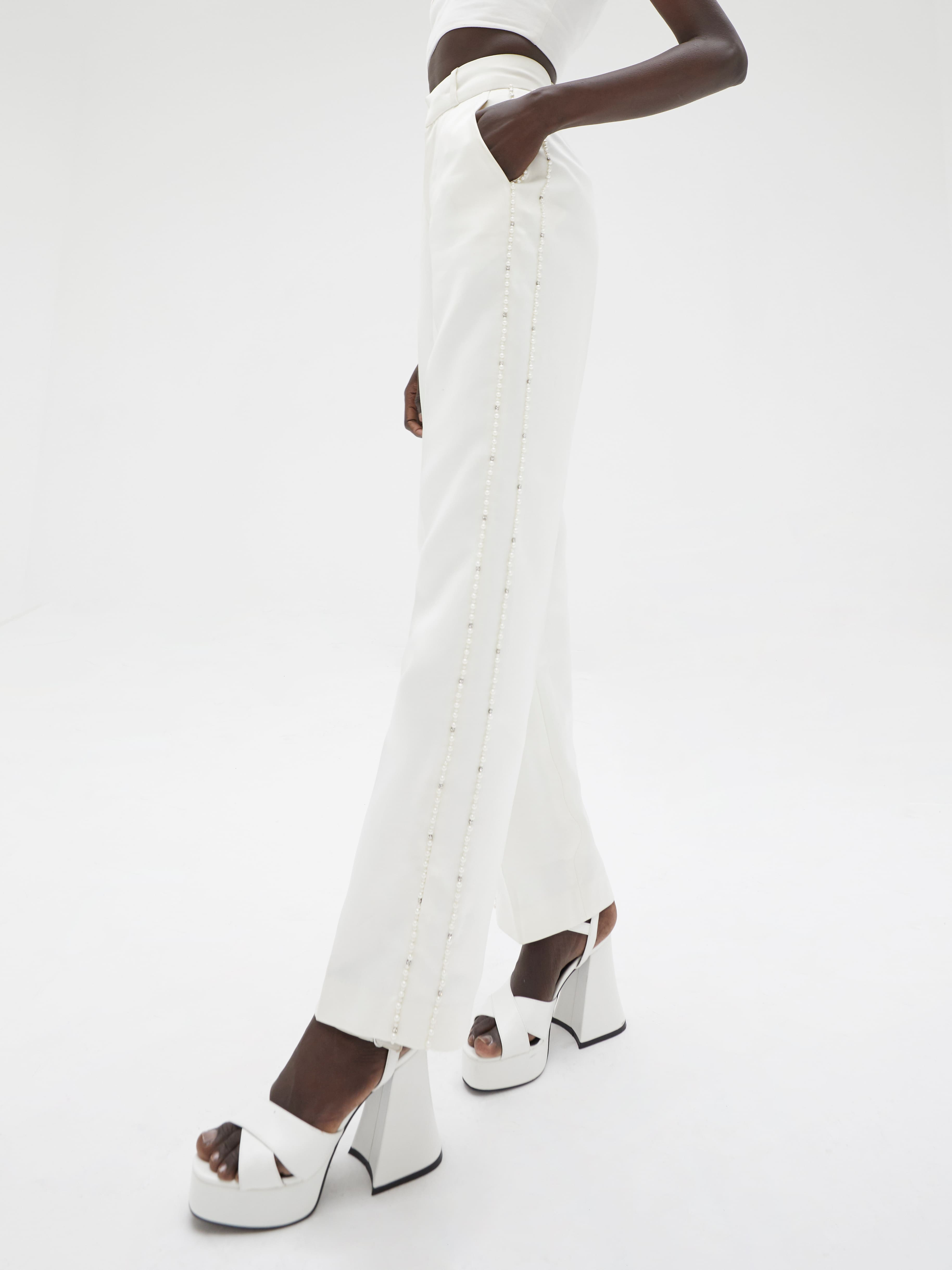 Kaly Trousers Ivory