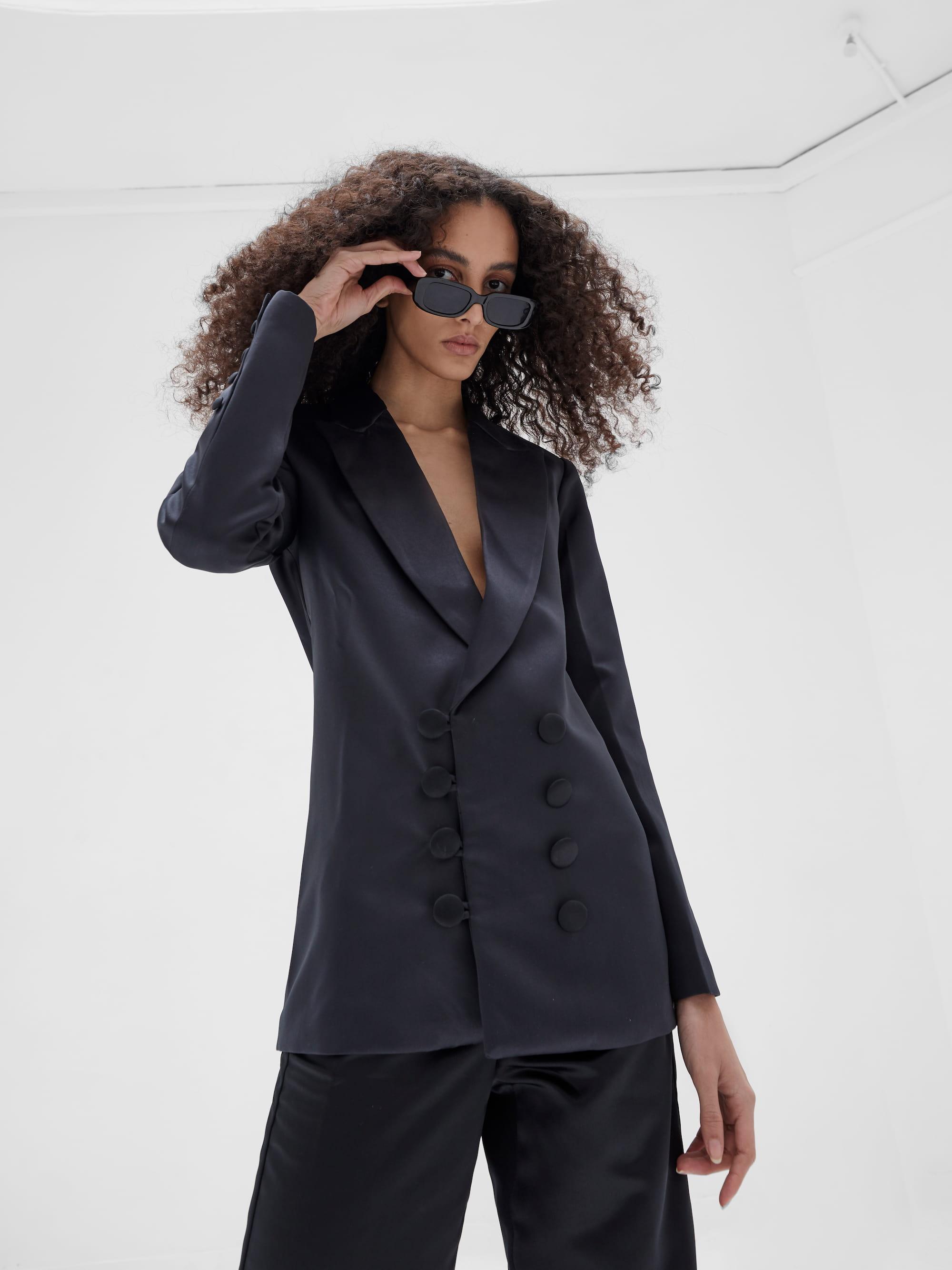 Kamala Blazer Black