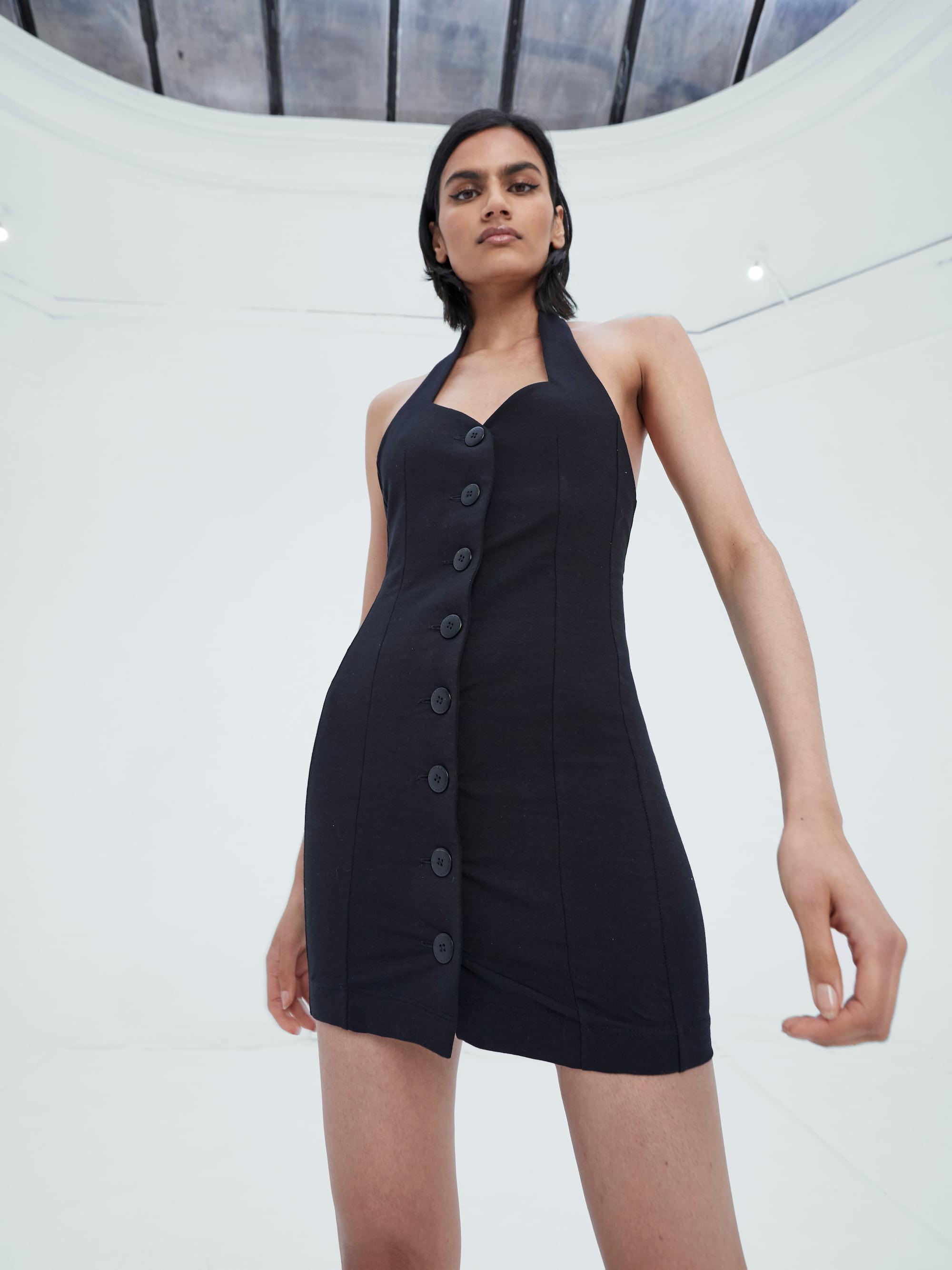 Klaz Mini Dress Black