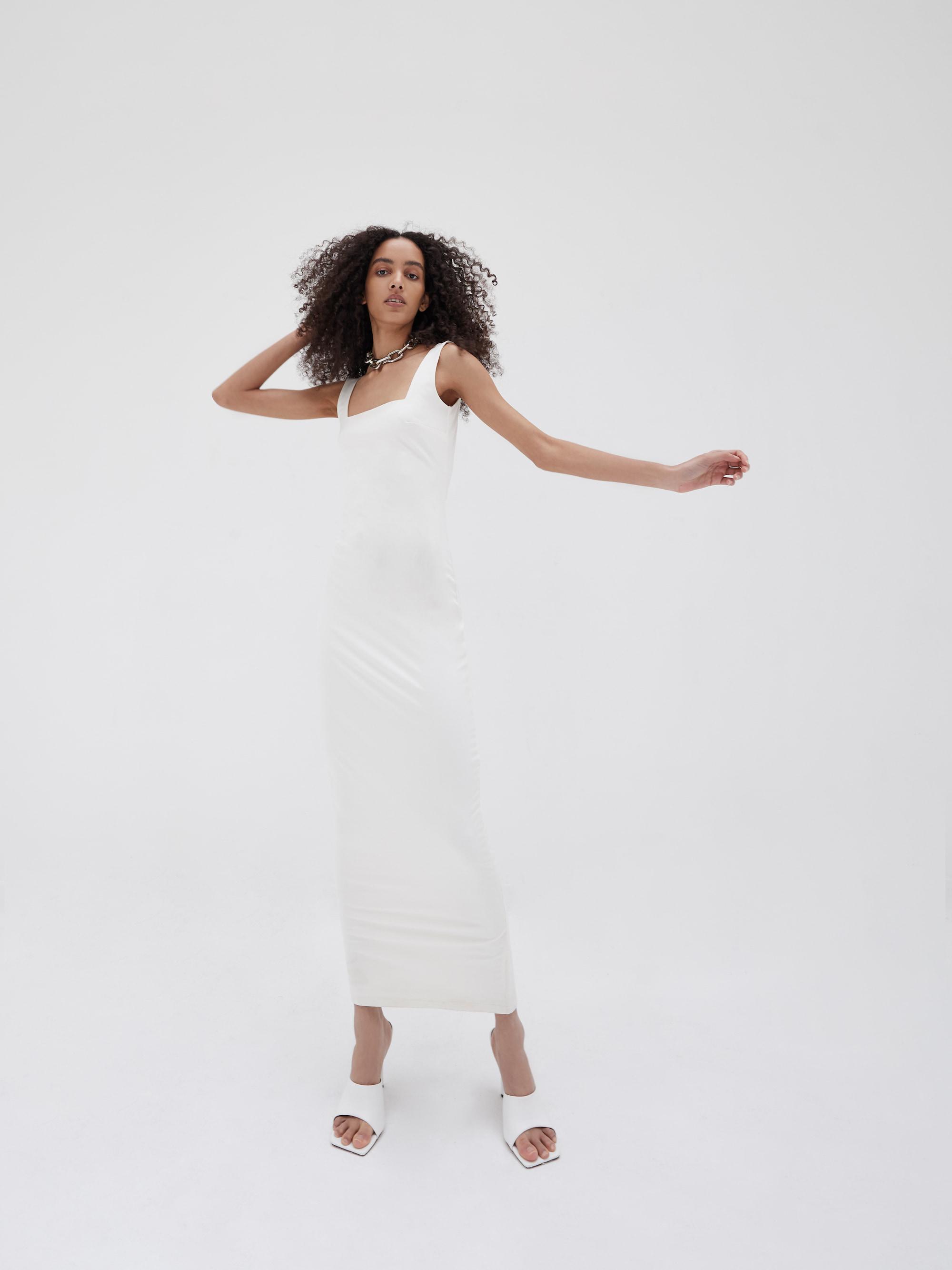 Keely Maxi Dress Ivory