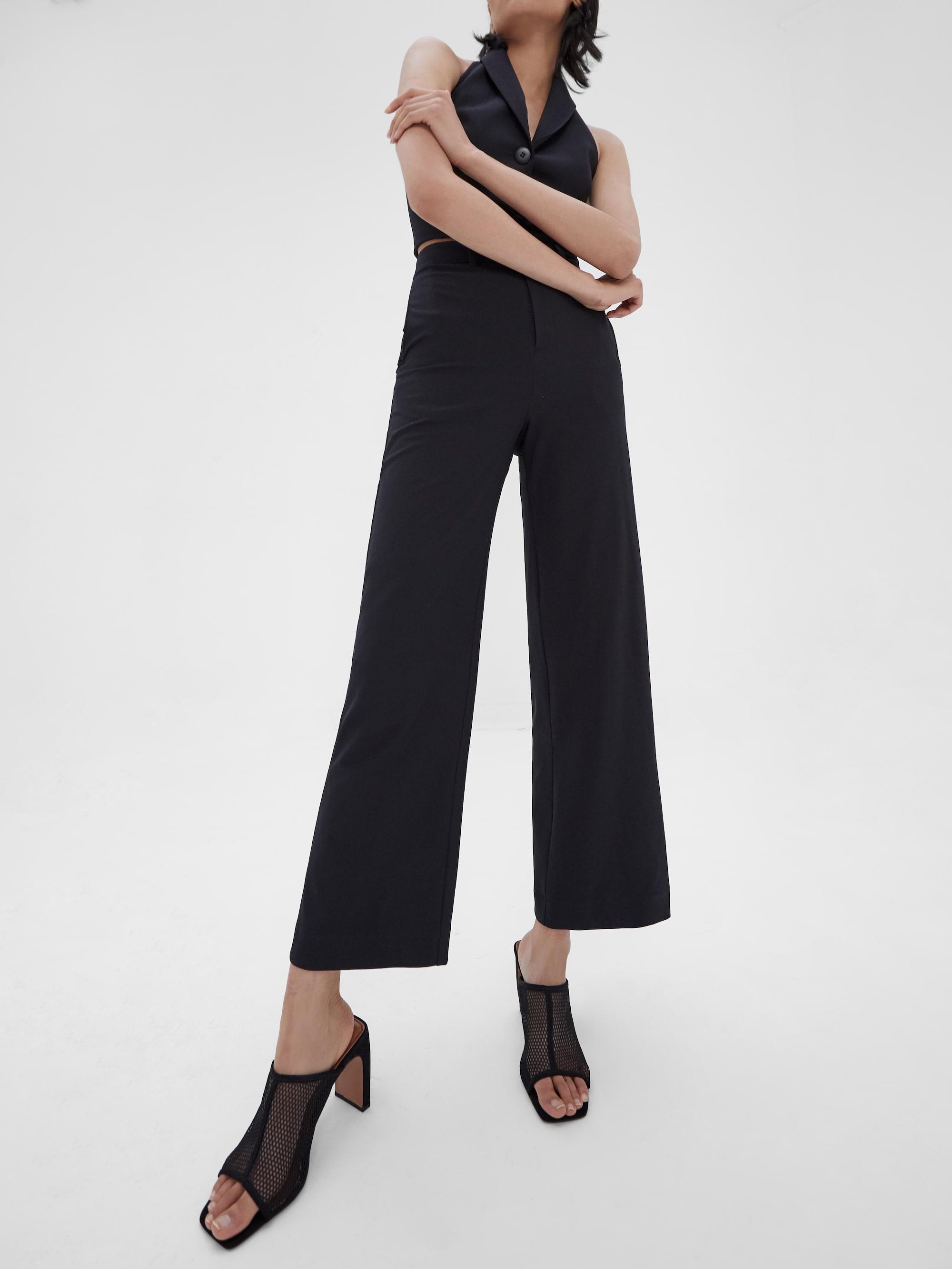 Kamee Suit Trousers Black