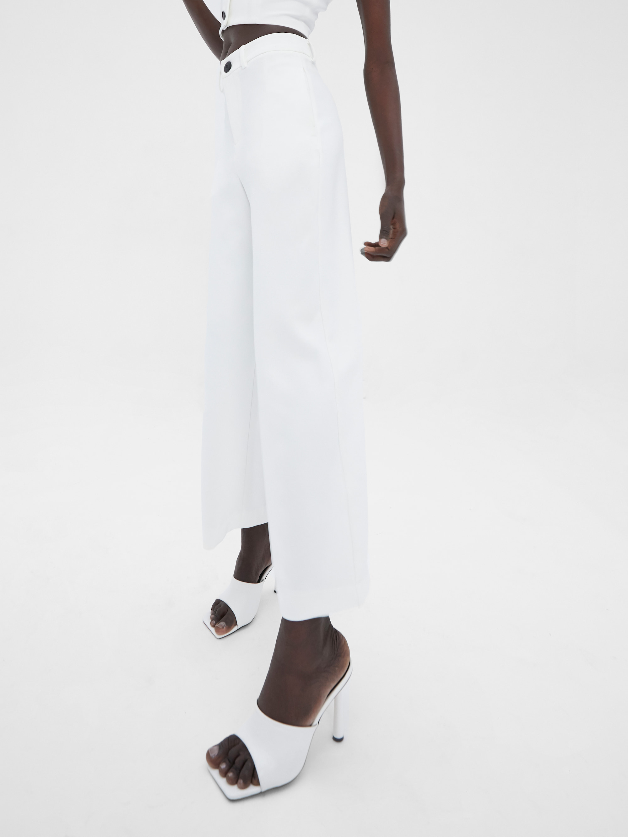 Kamee Suit Trousers Ivory