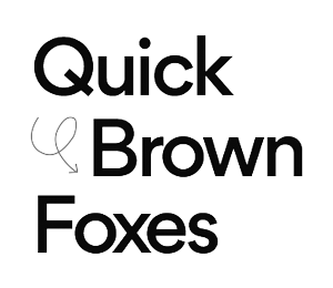 Quick Brown Foxes