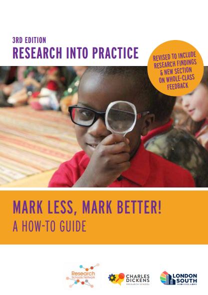 Mark Less, Mark Better