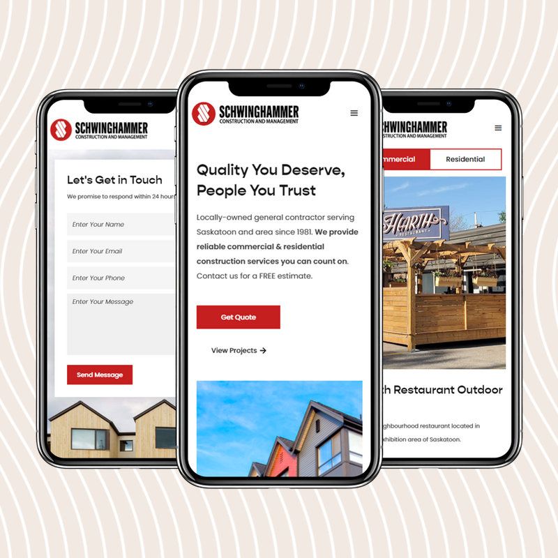Schwinghammer Testimonial  | Coco Creative Web - Construction Web Design