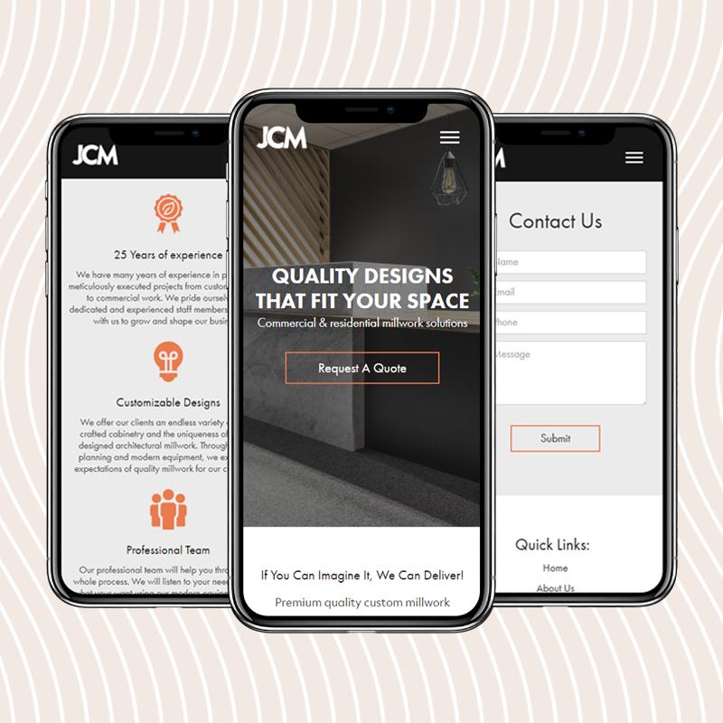 JCM Testimonial | Coco Creative Web - Construction Web Design