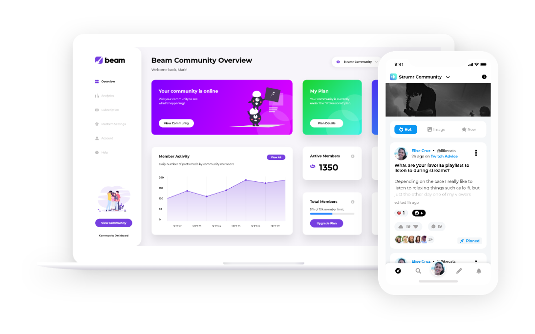 Beam.gg platform preview